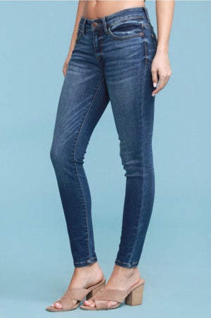 #520 Your Everyday Medium Wash Skinny Jeans