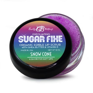 #547 Sugar fixe lip scrub