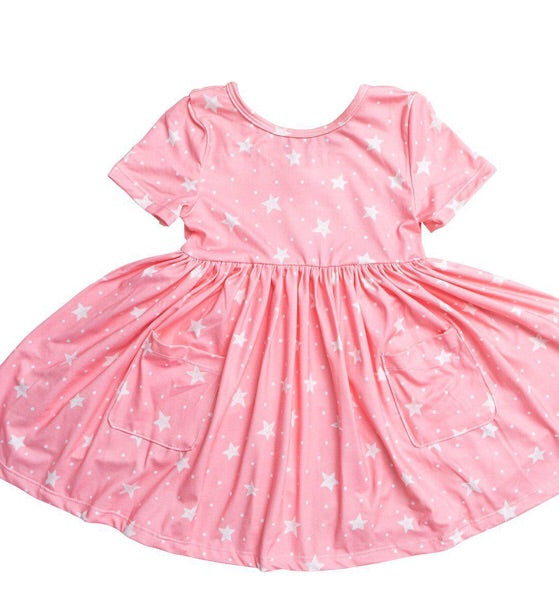 #249 Showstopper Ruffle Girls Dress