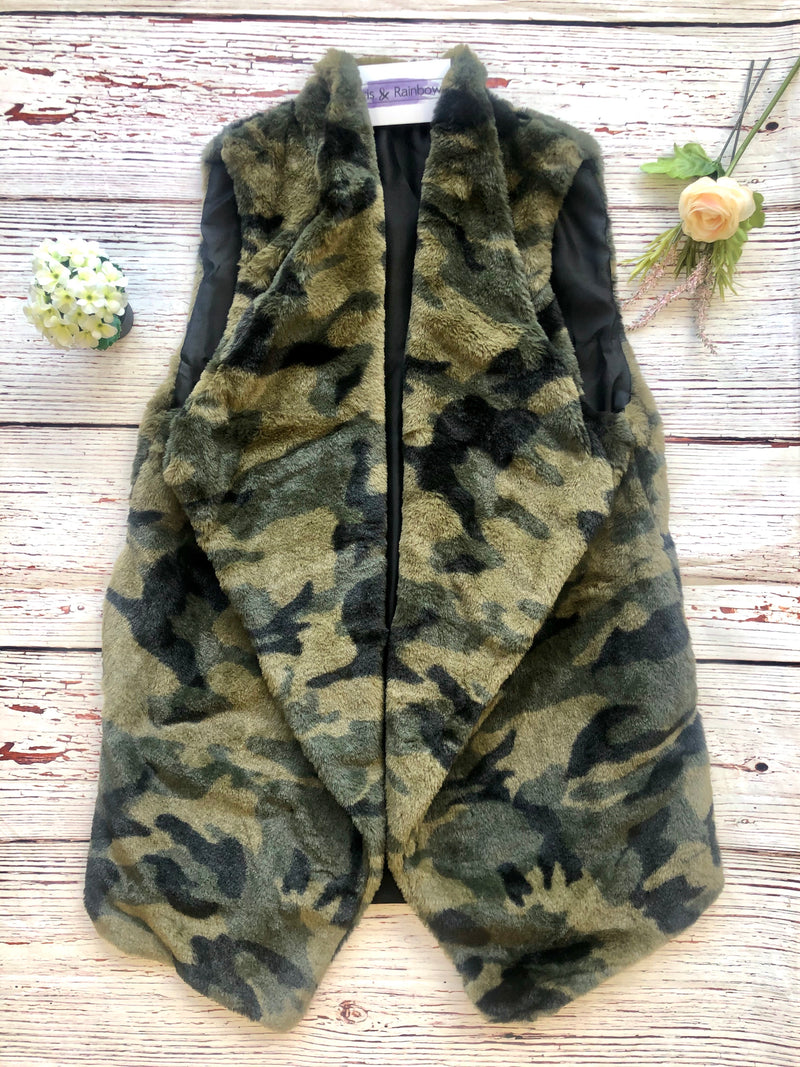 #C91 Hiding My Heart Camo Vest
