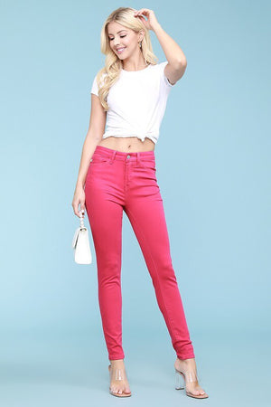 #380 Pretty in pink jeans