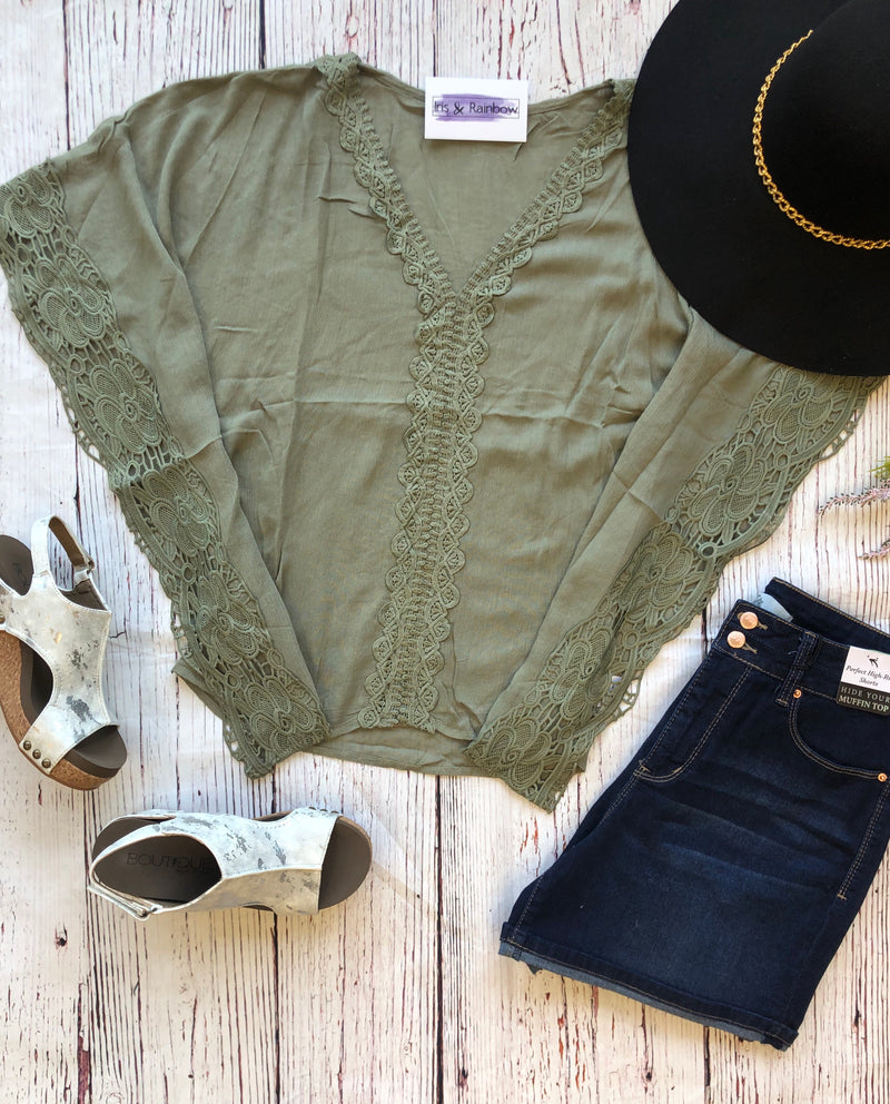 #C136 Olive You All Day Top (FINAL SALE)