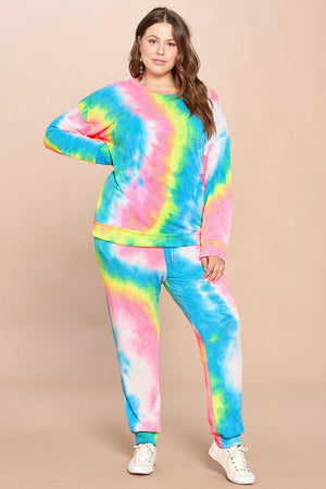 #441 Tie-Dye all day joggers
