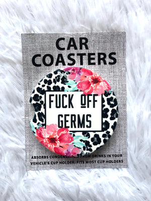#105 Sassy Car Coasters