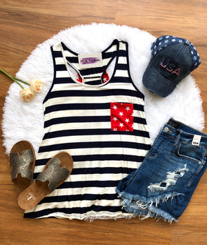 #B21 Brave Hearts Tank Top (FINAL SALE)