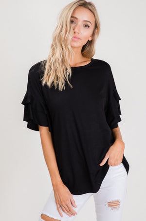 #133 Night out flowy top