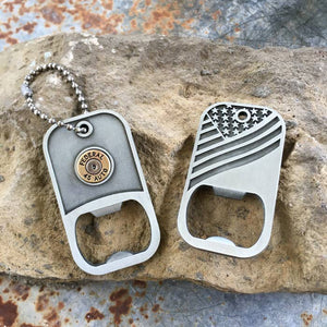 #732 Bullet jewelry- dog tag
