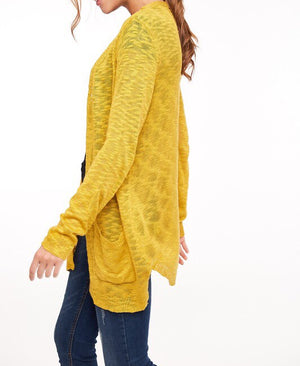 #470 Time to Unwind Cardigan (FINAL SALE)