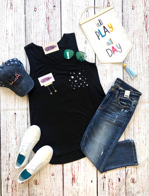 #B20 Touch the Sky Pocket Tank (FINAL SALE)
