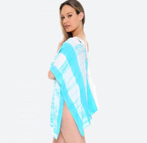 #173 Tie Dye Breeze Cover Up