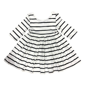#247 Twirl striped dress