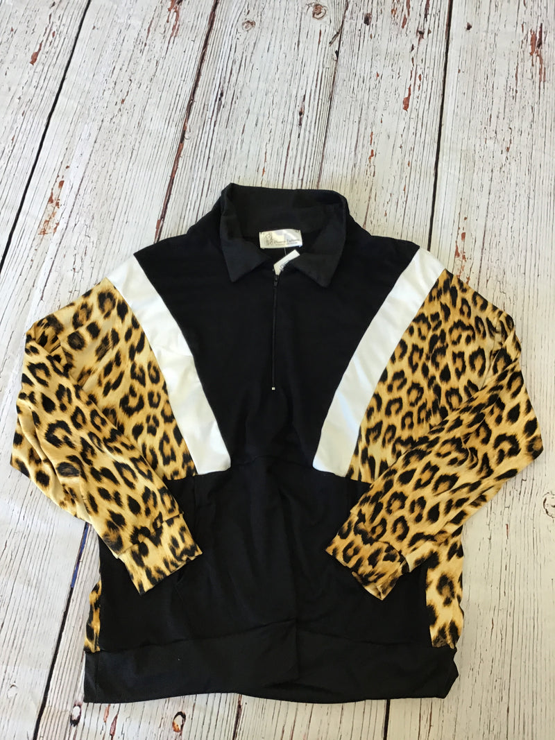 #855 Athleisure Light Weight Jacket (Animal Print)