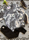 #D50 Midnight Storms Tie Dye Sweatshirt