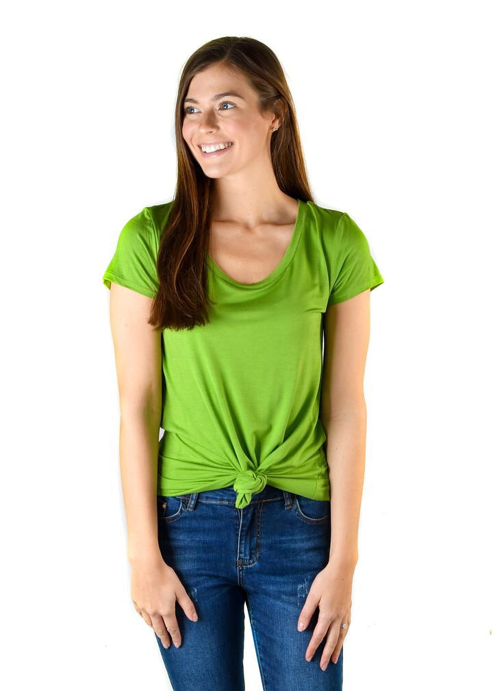 #478 Favorite tee (grass green)