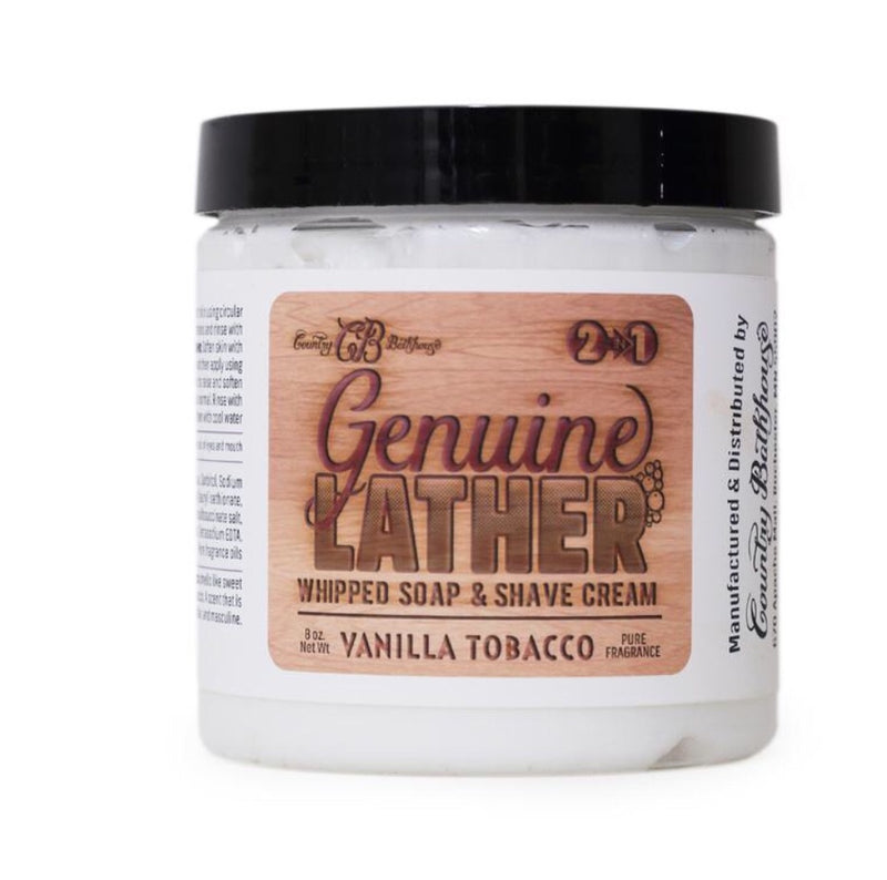 #102 Genuine Lather Whipped Soap