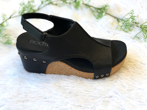 #A106 Rock It Platform Wedges