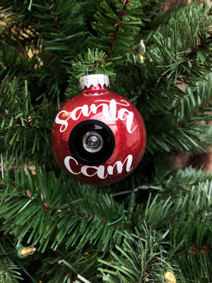 Santa Cam Christmas ornament