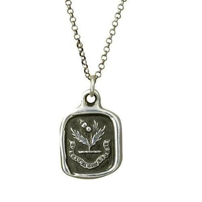 Sweeter after difficulties Thistle necklace