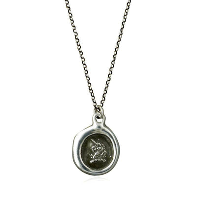 Unicorn Wax Seal Necklace
