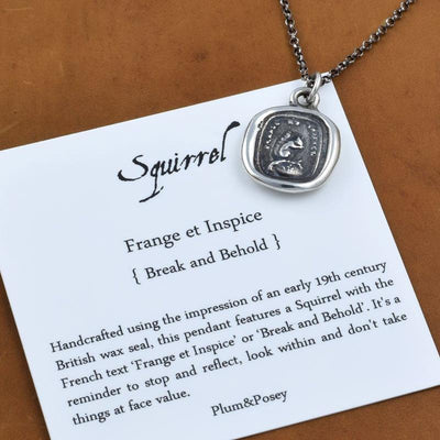 Look Within - Squirrel Necklace