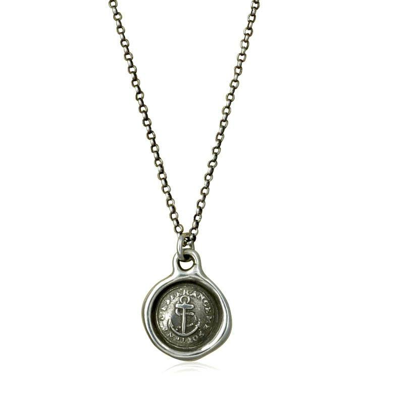 Hope Sustains - Victorian Whimsy Wax Seal Necklace