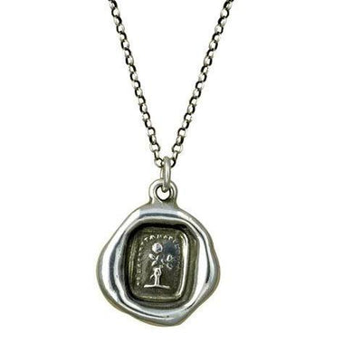 Latin Rose Crest Necklace