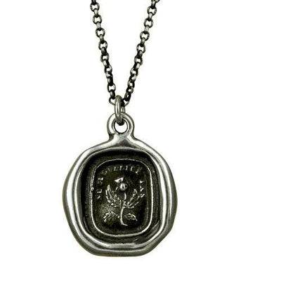Scottish Thistle necklace - Do Not Forget Me