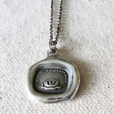 God Will Provide Birds Nest Necklace