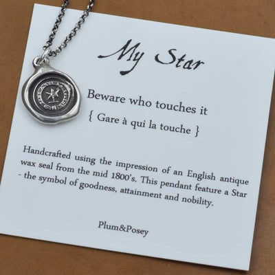My Star Necklace - Beware who touches it