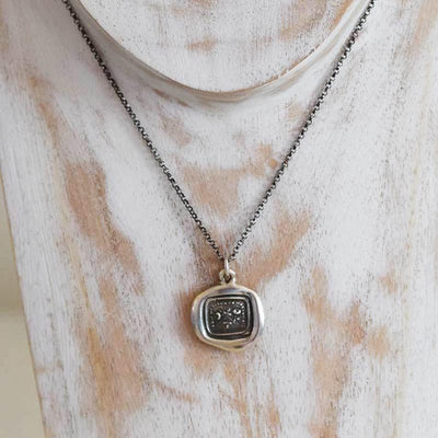 Bloom Wax Seal Necklace - Bloom today