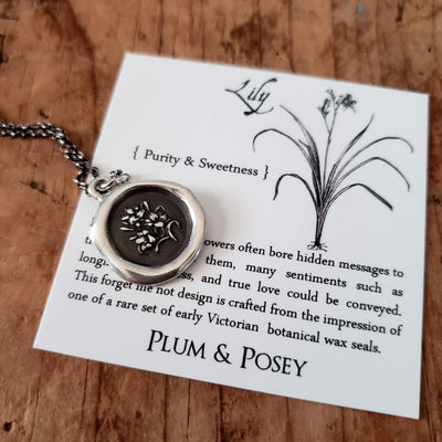 Lily Necklace ~ Purity & Sweetness
