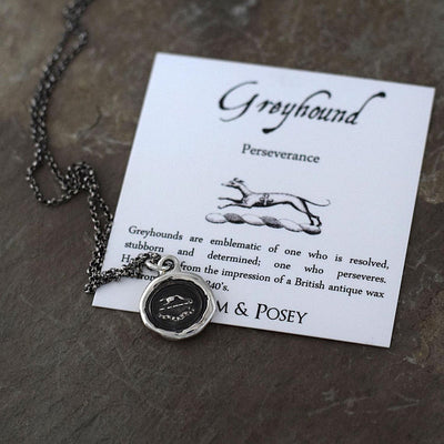 Greyhound Necklace - Perseverance