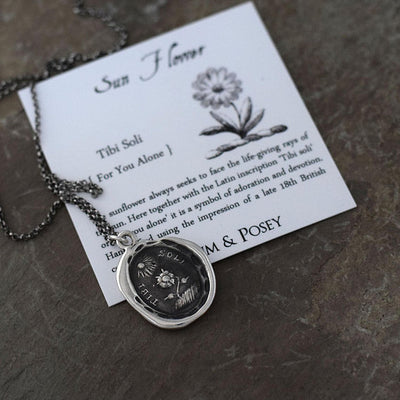 Sunflower - For you alone necklace