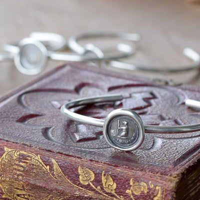 Silver Bear Bracelet- Silver bear jewelry featuring a tiny silver bear - Bear me in mind