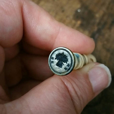 Free and Plenty ~ Victorian Wax Seal  Wheat