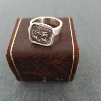 Wax Seal Ring - Two trees