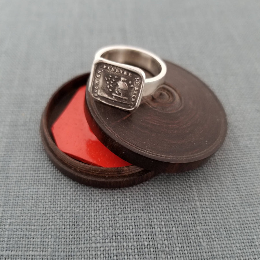Secret - Bees and Beehive Wax Seal Wax Seal Ring