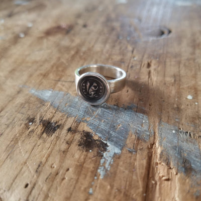 Squirrel Wax Seal Ring