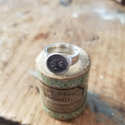 Butterfly Wax Seal Ring