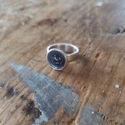 Rooster 'While I live, I'll Crow' l Ring