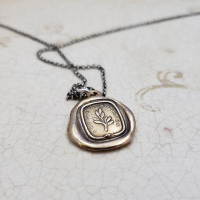 Growth Necklace in Bronze  - Grow, don't change