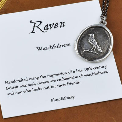 Nevermore Raven Wax Seal Ring