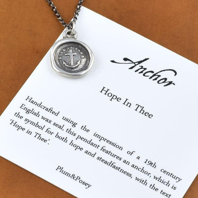 Anchor Bracelet - Hope in Thee Wax Seal Bracelet