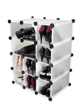 White Cube Storage Boxes