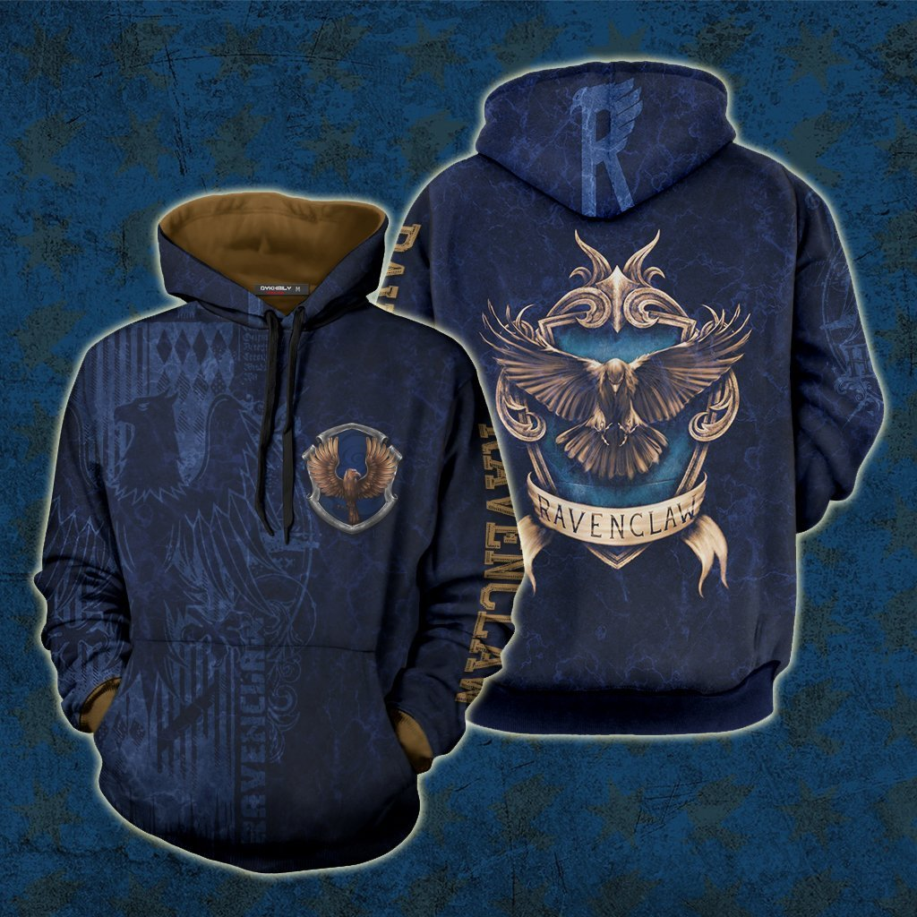The Wise Ravenclaw Harry Potter New 3D Hoodie