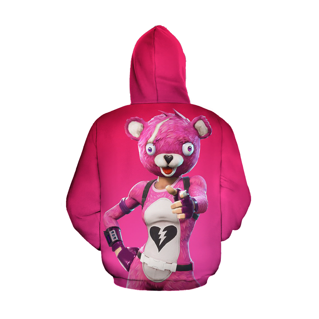 Fortnite Cuddle Team Leader Zip Up Hoodie