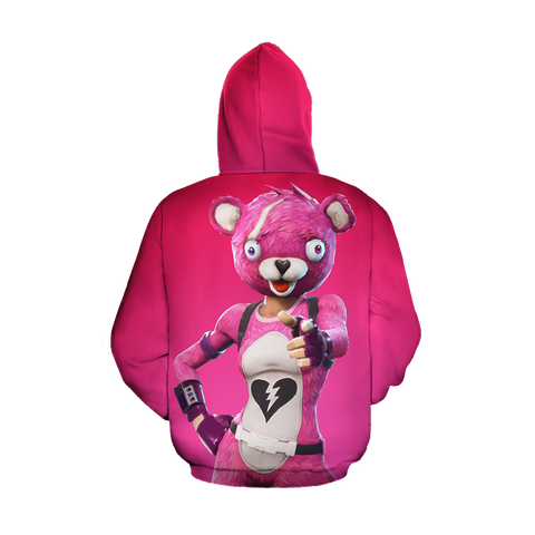 Image of Fortnite Cuddle Team Leader Zip Up Hoodie