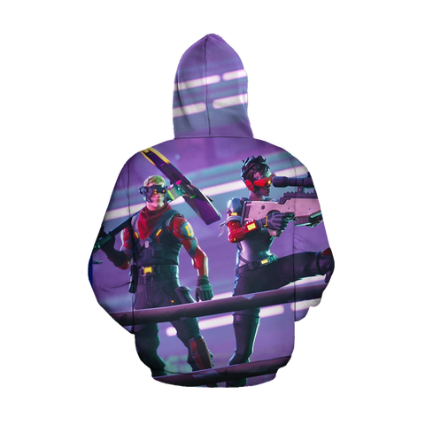 Image of Fortnite Battle Royale Bolt-Action Sniper Rifle 3D Hoodie