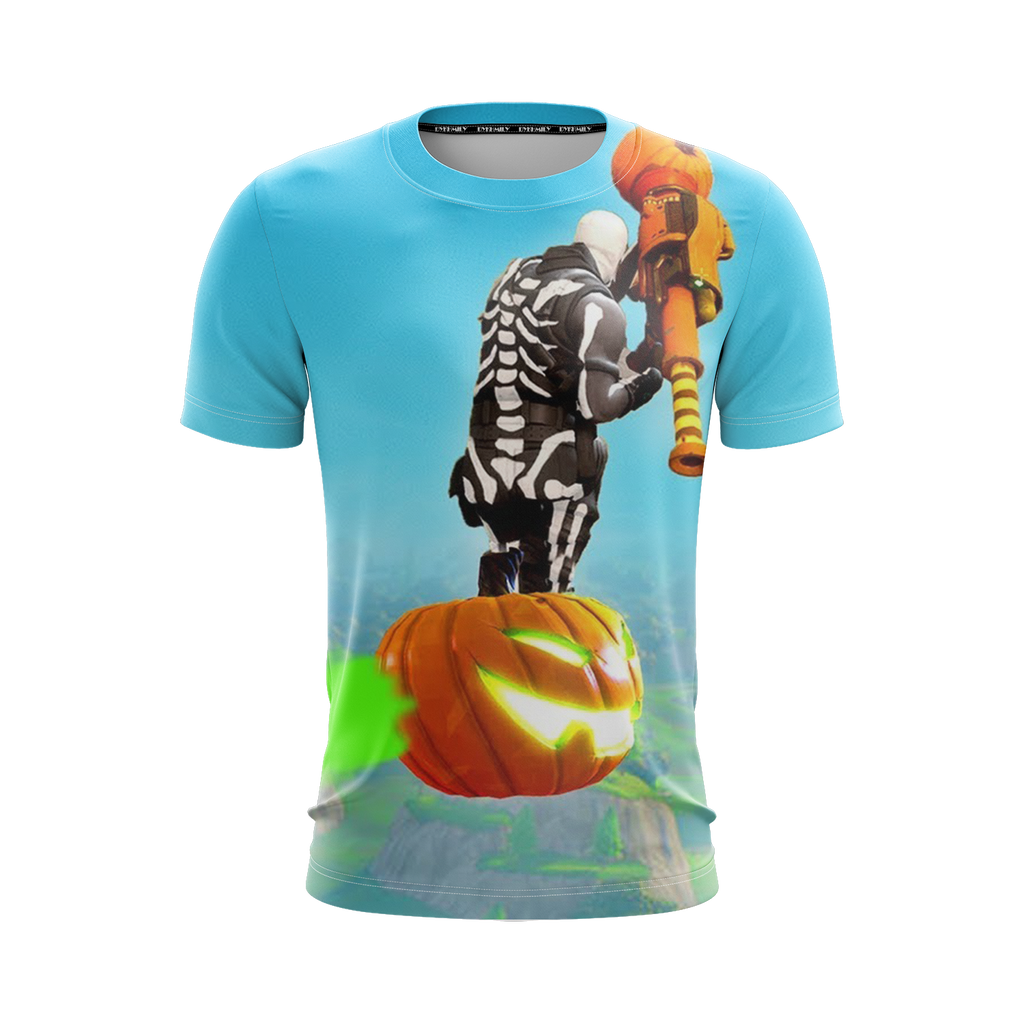 Fortnite Skull Trooper Skin Unisex 3D T-shirt