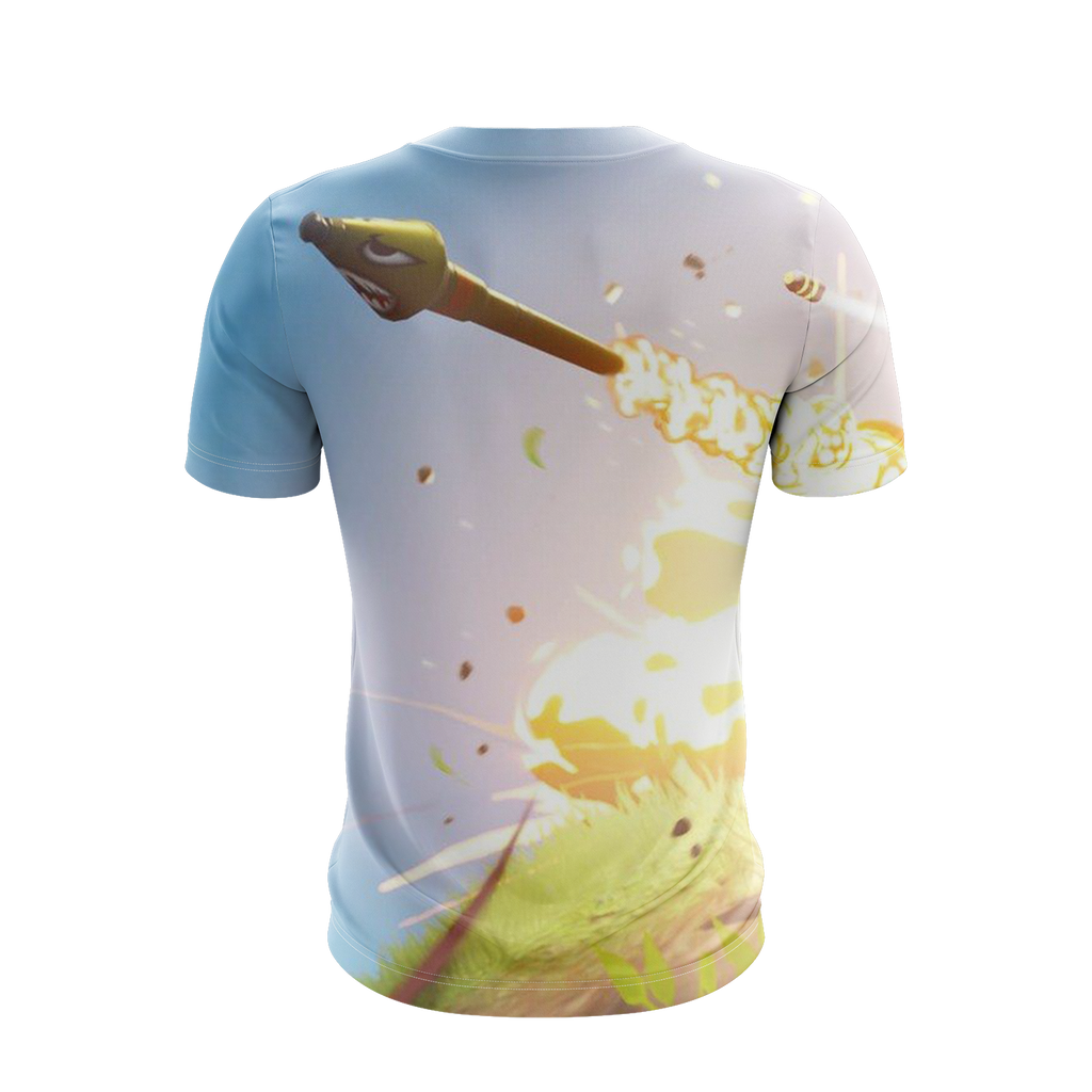 Fortnite Survivalist Jonesy Skin Unisex 3D T-shirt